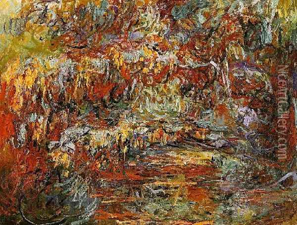 The Japanese Bridge Oil Painting - Claude Oscar Monet