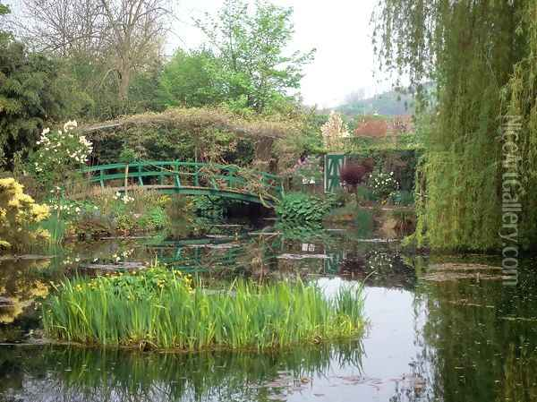 Home and Garden of Claude Monet, Giverny, France Oil Painting - Claude Oscar Monet