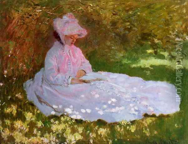 The Reader Oil Painting - Claude Oscar Monet