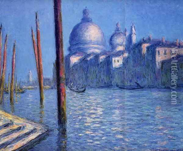 The Grand Canal2 Oil Painting - Claude Oscar Monet