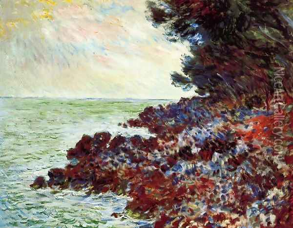 Cap Martin3 Oil Painting - Claude Oscar Monet