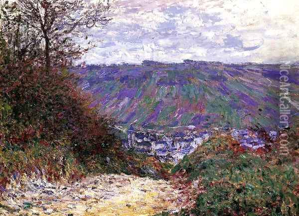 Path At Giverny Oil Painting - Claude Oscar Monet