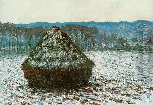 Grainstack Oil Painting - Claude Oscar Monet