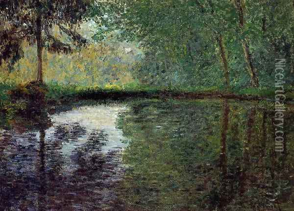 The Pond At Montgeron2 Oil Painting - Claude Oscar Monet