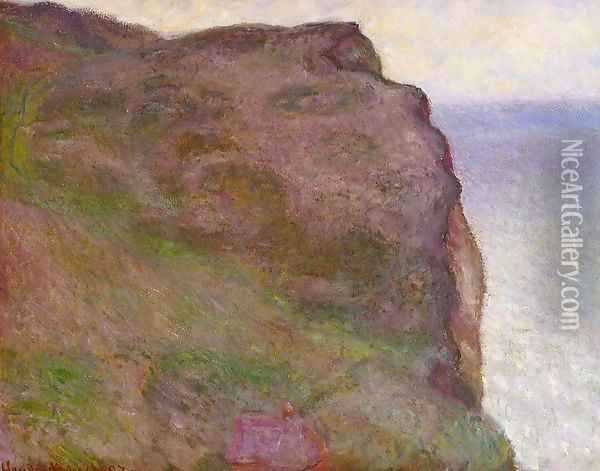 Cliff At Petit Ailly At Varengeville Oil Painting - Claude Oscar Monet