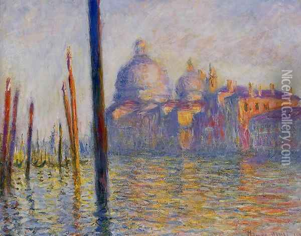 The Grand Canal4 Oil Painting - Claude Oscar Monet