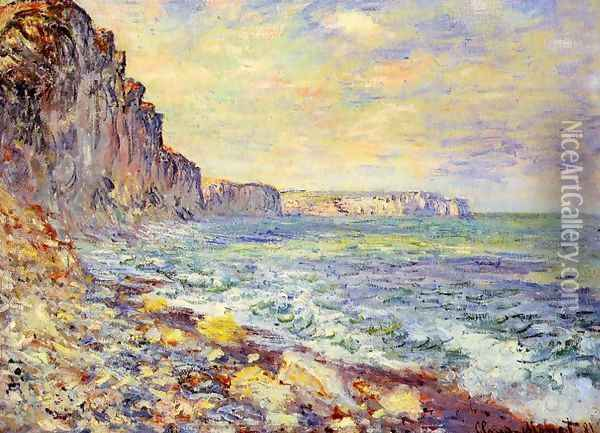 Morning By The Sea Oil Painting - Claude Oscar Monet
