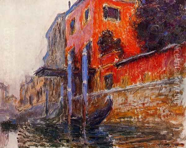 The Red House Oil Painting - Claude Oscar Monet