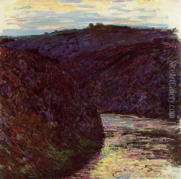 Gorge Of The Creuse Oil Painting - Claude Oscar Monet