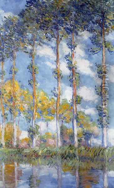 Poplars Oil Painting - Claude Oscar Monet