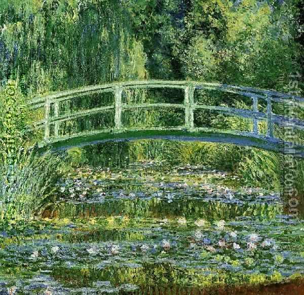 Water Lily Pond Oil Painting - Claude Oscar Monet
