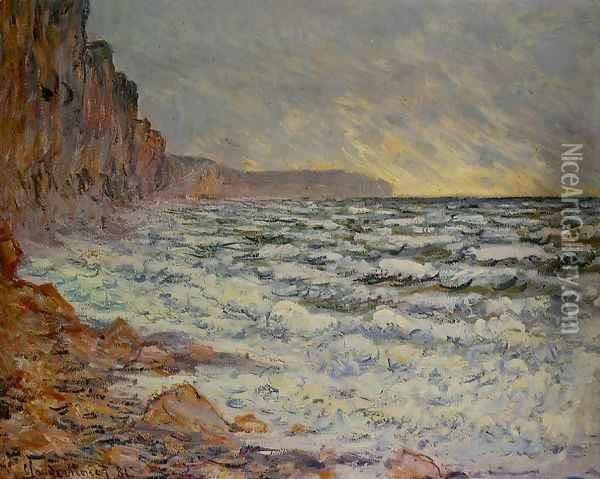 Fecamp By The Sea Oil Painting - Claude Oscar Monet