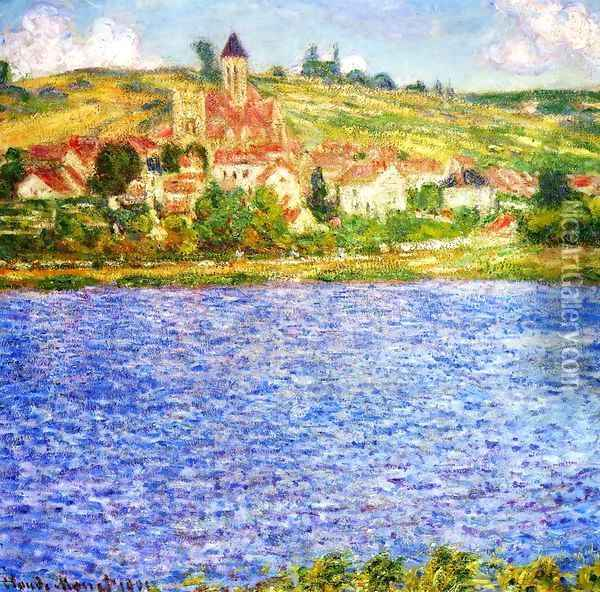 Vetheuil Afternoon Oil Painting - Claude Oscar Monet