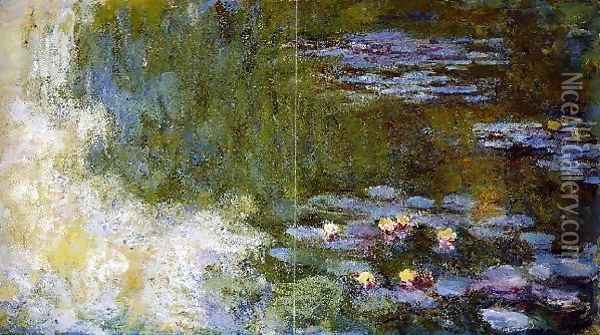 The Water Lily Pond11 Oil Painting - Claude Oscar Monet