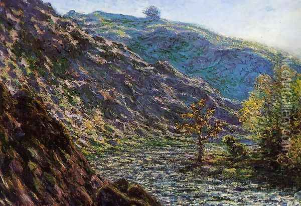 The Old Tree At The Confluence Oil Painting - Claude Oscar Monet