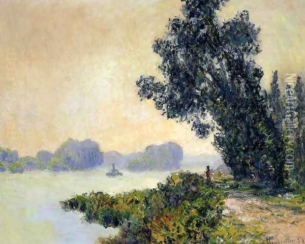 The Towpath At Granval2 Oil Painting - Claude Oscar Monet