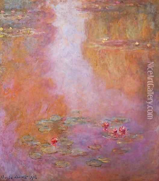 Water Lilies10 Oil Painting - Claude Oscar Monet