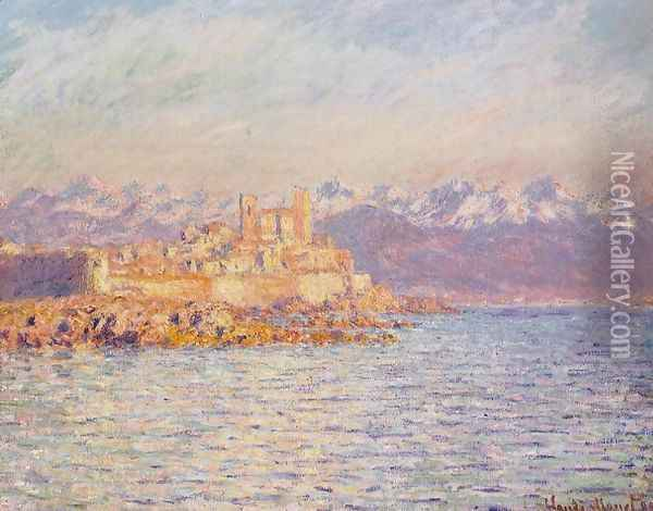 The Bay Of Antibes Oil Painting - Claude Oscar Monet