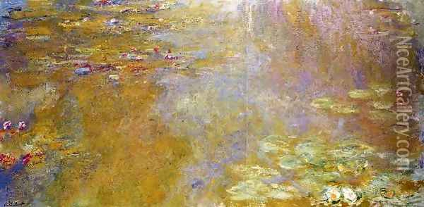 The Water Lily Pond 5 Oil Painting - Claude Oscar Monet