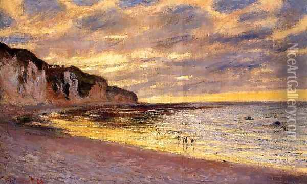 LAlly Point Low Tide Oil Painting - Claude Oscar Monet