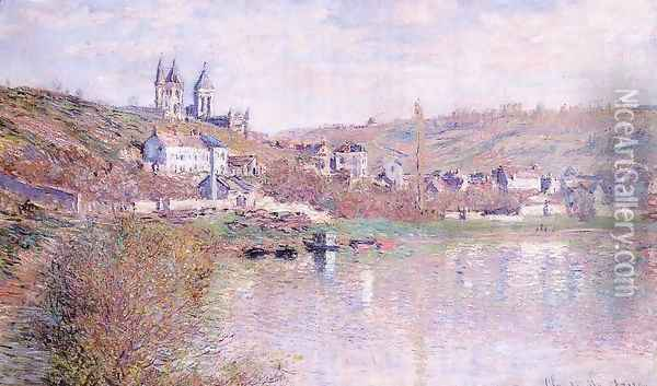 The Hills Of Vetheuil Oil Painting - Claude Oscar Monet