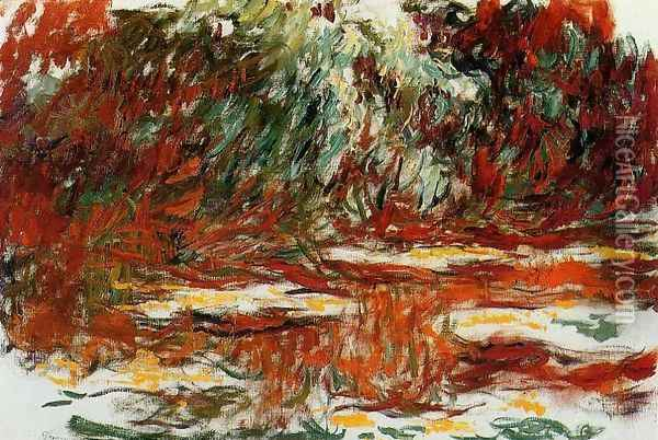 The Water Lily Pond4 Oil Painting - Claude Oscar Monet