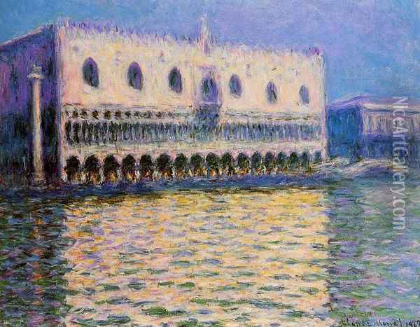 The Palazzo Ducale I Oil Painting - Claude Oscar Monet