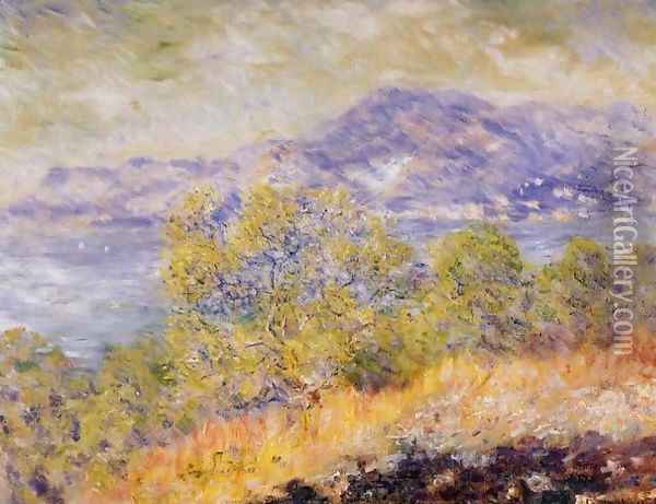 View Taken Near Ventimiglia Oil Painting - Claude Oscar Monet