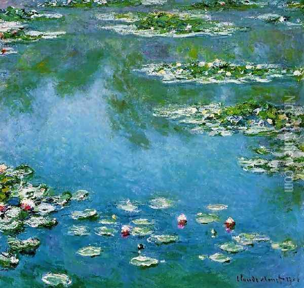 Water Lilies5 Oil Painting - Claude Oscar Monet