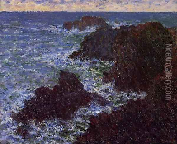 The Cote Sauvate Oil Painting - Claude Oscar Monet
