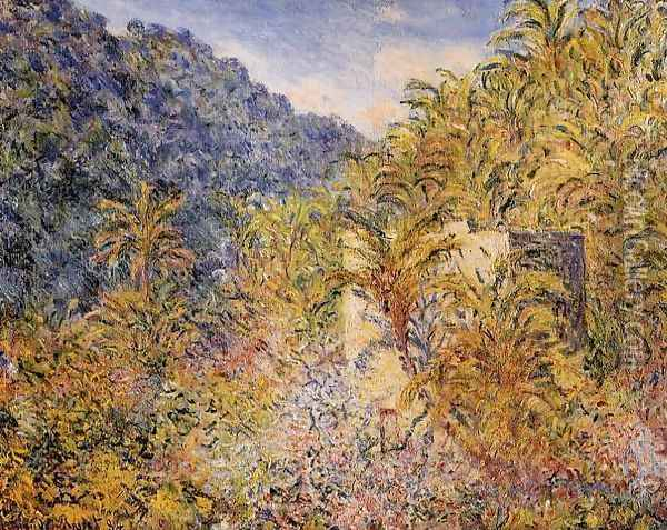 The Valley Of Sasso Oil Painting - Claude Oscar Monet
