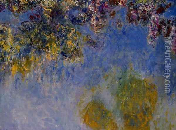 Wisteria Oil Painting - Claude Oscar Monet