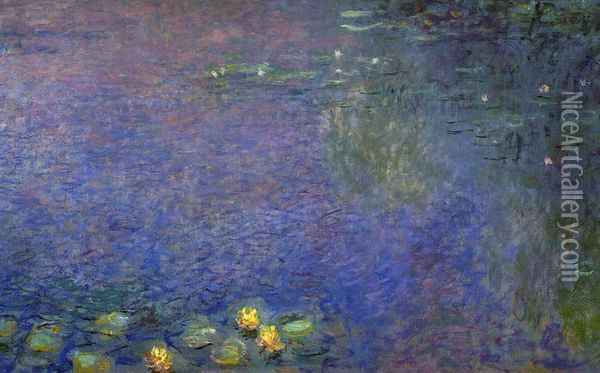 Morning (right-center detail) Oil Painting - Claude Oscar Monet