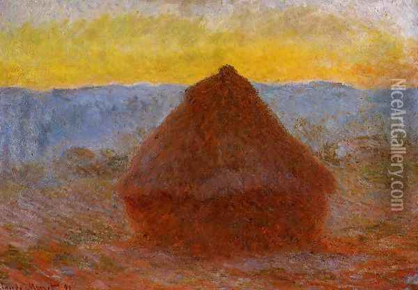 Grainstack2 Oil Painting - Claude Oscar Monet