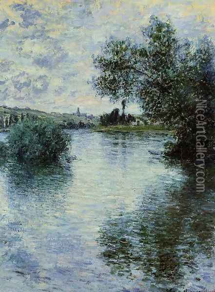 The Seine At Vetheuil3 Oil Painting - Claude Oscar Monet
