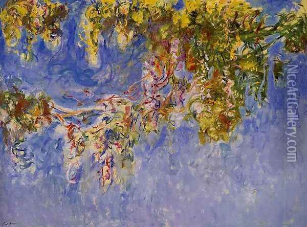Wisteria2 Oil Painting - Claude Oscar Monet