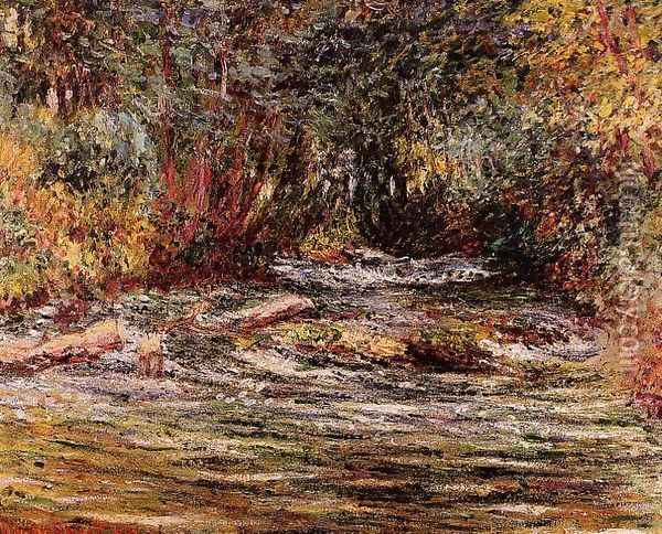 The River Epte At Giverny Oil Painting - Claude Oscar Monet