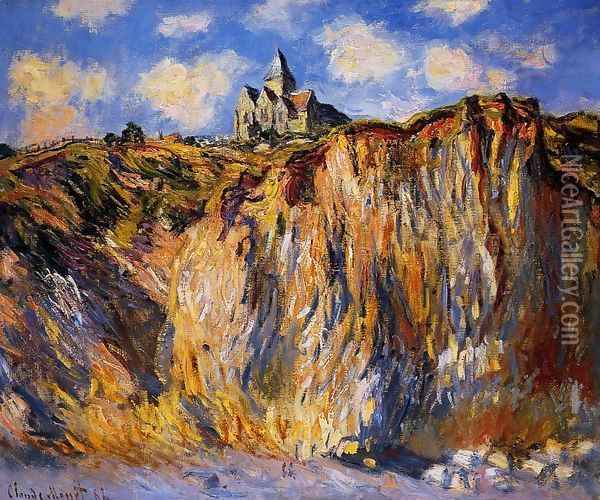 The Church At Varengeville Morning Effect Oil Painting - Claude Oscar Monet