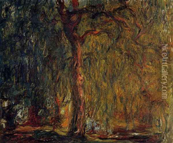 Weeping Willow VI Oil Painting - Claude Oscar Monet