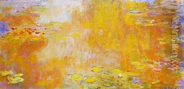 The Water Lily Pond3 Oil Painting - Claude Oscar Monet