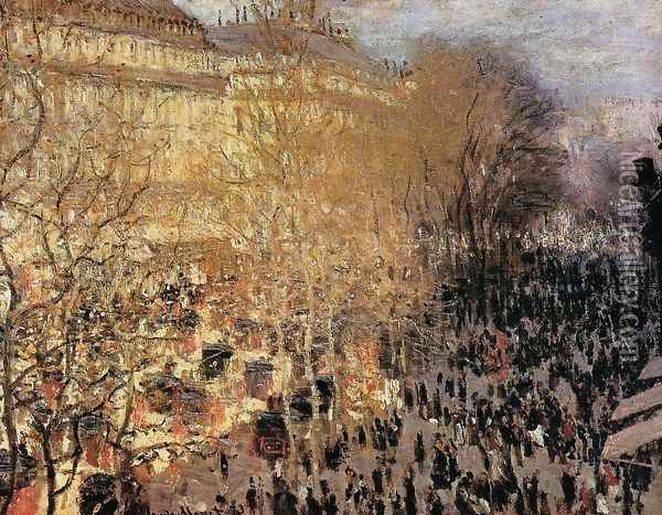 The Boulevard Des Capuchine Aka Boulevard Des Capucines Oil Painting - Claude Oscar Monet