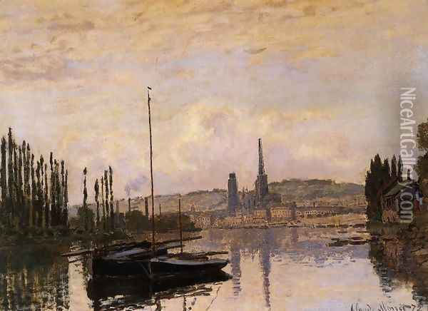 View Of Rouen Oil Painting - Claude Oscar Monet