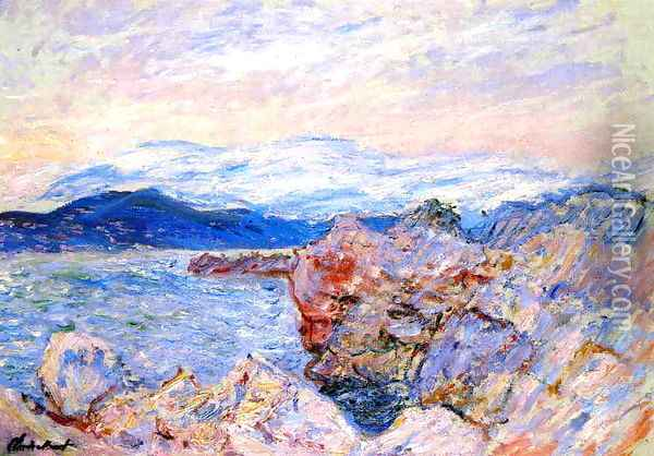 The Gulf Juan At Antibes Oil Painting - Claude Oscar Monet