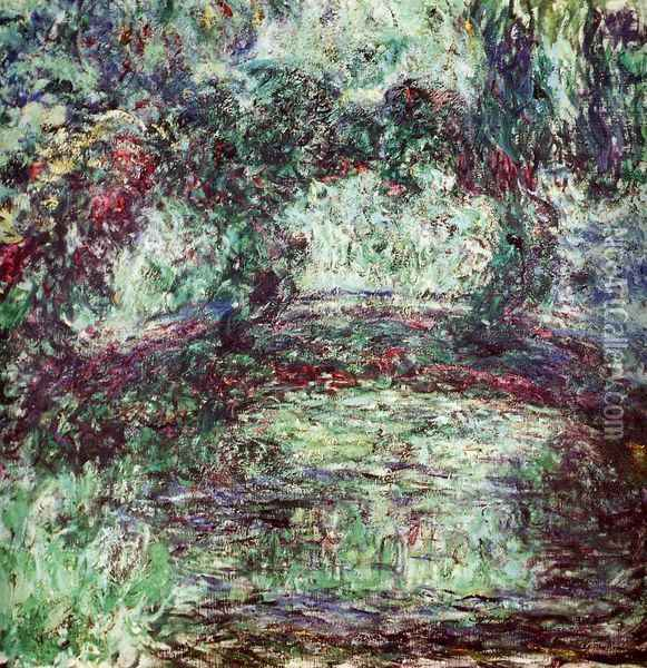 The Japanese Bridge II Oil Painting - Claude Oscar Monet