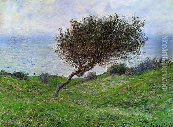 On The Coast At Trouville Oil Painting - Claude Oscar Monet