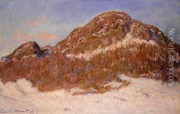 Mount Kolsaas 2 Oil Painting - Claude Oscar Monet