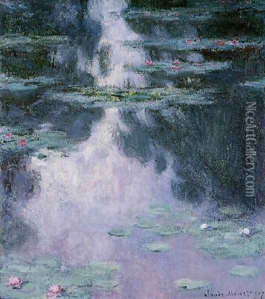 Water Lilies14 Oil Painting - Claude Oscar Monet