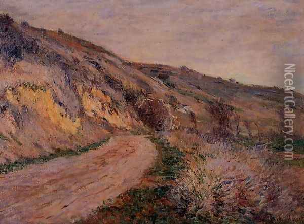 The Road To Giverny Oil Painting - Claude Oscar Monet