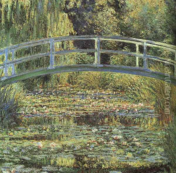 The Waterlily Pond Oil Painting - Claude Oscar Monet