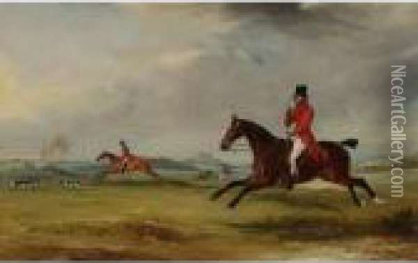 Lord Robert Manners On Benefit, 